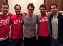 Federer đã làm hoà với Wawrinka sau vụ cãi vã
