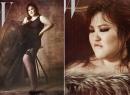 Nghệ sĩ hài 'béo ú' xứ Hàn trở thành người mẫu trên tạp chí thời trang