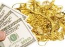 Giá vàng biến động, USD tăng mạnh
