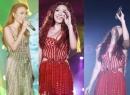 Mỹ Tâm gợi cảm với mốt xẻ sâu giữa 25.000 khán giả Hà Nội