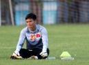 HLV Miura tiếp tục tin dùng thủ môn Nguyên Mạnh