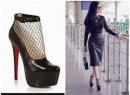 'Chóng mặt' nhìn giày cao gót của mỹ nhân Việt