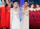 Màn 'chung' váy ấn tượng của sao trên thảm đỏ thời trang