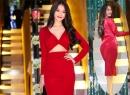 Chân dài Linh Chi gợi cảm bất chấp thời tiết se lạnh của Hà Nội