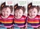 Hình ảnh chế đáng yêu của con gái Elly Trần