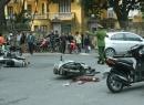Cướp giật tài sản chạy trốn, bị tai nạn giao thông