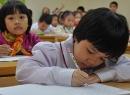 Nỗi niềm bài kiểm tra tiểu học chấm điểm