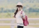 Hoa hậu Mai Phương Thúy trẻ trung như học sinh cấp 3