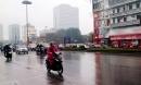 Hà Nội và các tỉnh phía Bắc mưa phùn trong hai ngày cuối tuần