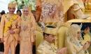 Đám cưới 'phủ' vàng của Hoàng tử Brunei