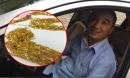 Tài xế taxi phát hiện hơn hai kg vàng sau xe