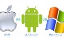 Cuộc chiến giữa iOS, Android và Windows Phone tới năm 2019