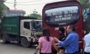Xe chở rác gây tai nạn liên hoàn, 6 người thương vong