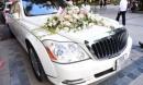Soi chi tiết Maybach 62S rước dâu giá 21 tỷ đồng của MC Thành Trung
