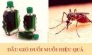 Đảm bảo nhà bạn không thấy 'bóng dáng' con muỗi nào chỉ với dầu gió