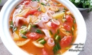 Canh mực nấu chua lạ miệng đưa cơm ngày hè cả nhà tấm tắc khen