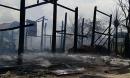 Hàng chục căn nhà sàn bị cháy vì người dân nướng thịt