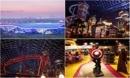 Bên trong công viên giải trí trong nhà lớn nhất thế giới ở Dubai