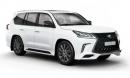 Lexus LX570 Superior bản cao cấp giá từ 2,63 tỷ đồng