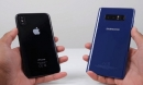 iPhone X so găng cùng Galaxy Note 8: Ai ngon hơn?