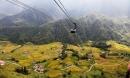 Ngất ngây với vẻ đẹp của thung lũng Mường Hoa nhìn từ trên cao