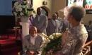 Sau 25 năm góa chồng, cụ bà 86 tuổi tổ chức đám cưới long trọng với cụ ông gần 90