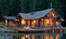 Những ngôi nhà bên hồ đẹp mê đắm, bình yên