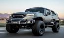 Soi kỹ siêu SUV Rezvani Tank giá 4 tỷ đồng