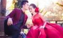 'Nữ hoàng' chuyển giới Lâm Khánh Chi lộ ảnh váy cưới cùng bạn trai kém 8 tuổi
