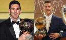Gần một thập kỷ thống trị Quả bóng vàng của Ronaldo, Messi