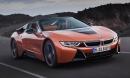 Siêu xe BMW i8 Roadster ra mắt với nhiều cải tiến