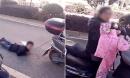 Sốc: Mẹ trói tay con trai vào xe máy kéo lê trên đường vì... nghịch