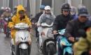 Không khí lạnh tăng cường tràn về sau Tết, Hà Nội giảm nhiệt và mưa rét 13 độ C