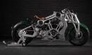Ngắm 'chiến cơ mặt đất', giá siêu khủng từ Curtiss Motorcycle