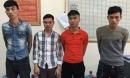 Bắt khẩn cấp 4 đối tượng chém cô gái trẻ rồi cướp xe máy gần Thanh Trì