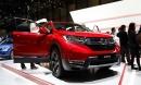 Đã mắt với Honda CR-V 2018 màu đỏ ấn tượng tại Geneva