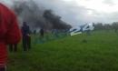 Máy bay chở hơn 100 người rơi ở Algeria