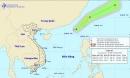 Xuất hiện áp thấp nhiệt đới giật cấp 9 trên Biển Đông