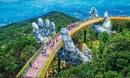Dân tình 'bấn loạn' trước cây cầu vàng hình bàn tay khổng lồ ở Đà Nẵng, rần rần rủ nhau đến check in
