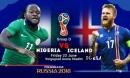 Nigeria – Iceland: Mở đường sống, diệt Argentina – Messi (World Cup 2018)