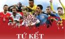Tứ kết World Cup: Bát đại anh hùng tranh bá, sục sôi ngôi vương