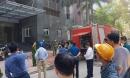 Hà Nội: Cháy chung cư trên mặt đường Hoàng Đạo Thúy, người dân hoảng loạn
