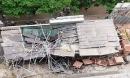 Đứt cáp cần trục, giàn giáo đổ sập mái nhà dự án The Sun Mễ Trì