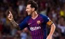 Messi ghi bàn, Barca chật vật giành 1 điểm vì thiếu người