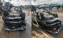 Phó giám đốc Sở TN&MT Đà Nẵng đâm xe lật ngửa, vợ tử vong