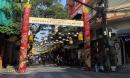 Giữa Hà Nội bỗng có 'con đường nón lá' hút hàng nghìn du khách