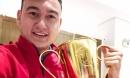 Lá thư mừng chiến thắng 'đốn tim' của mẹ thủ môn Đặng Văn Lâm