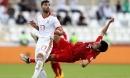 Đức Huy bị mất trí nhớ tạm thời sau pha va chạm với cầu thủ Iran