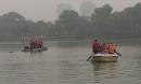 Sau khi tuyên bố 'đây là hồ của tôi', nam thanh niên nhảy xuống hồ Hoàn Kiếm mất tích