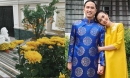 Tăng Thanh Hà khoe biệt thự triệu đô ngập tràn hoa trái ngày Tết